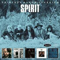 SPIRIT - ORIGINAL ALBUM CLASSICS 5 CD NEU