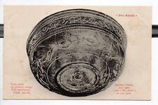 ALESIA pro-alésia CPA 21 fouilles gallo-romaines grand bol en poterie rouge
