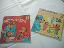 A30   LOT 2 VINTAGE 1983 BOOKS THE BERENSTAIN BEARS  THE TRUTH & GET IN A FIGHT