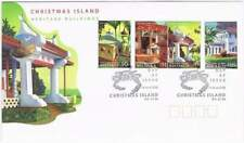 Christmas Island 2006 FDC 581-584 - Herirage Buildings
