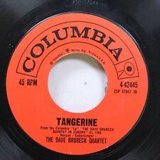 Jazz 45 The Dave Bruebeck Quartet - Tangerine / The Duke On Columbia