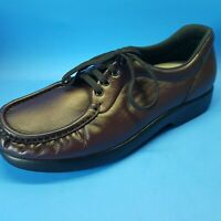 SAS Tripad Comfort Burgundy Lace-Up Casual Loafer Shoes Womens Size 10M Made USA