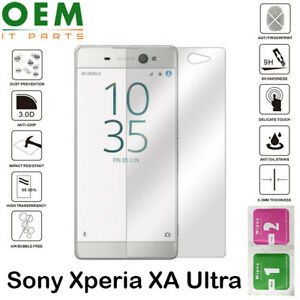 Premium Screen Protector For Sony Xperia XA Ultra - Tempered Glass Guard Film