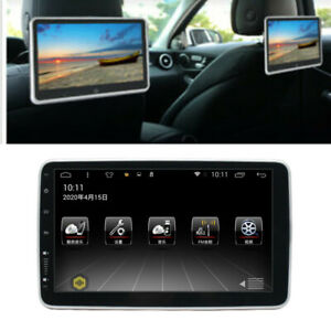 """10.1"""" 1080P Car Rear Seat Video Monitor Android 9.1 Headrest Smart MP5 Player"""