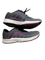 Brooks Womens Ravenna Grey/Wild Aster Running Shoes Size 6 (1511074)