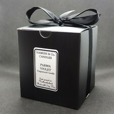 Parma Violet Fragrance Hand Made Soy Wax Candle - Vegan Friendly