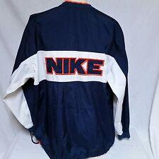 VTG Nike Pullover Windbreaker Jacket Spell Out 90s Coat Jordan Air Max Track XL