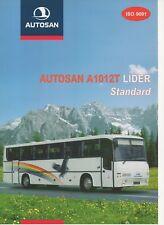 Autosan A 1012 T Lider Standard bus (made in Poland) _2000 Prospekt / Brochure