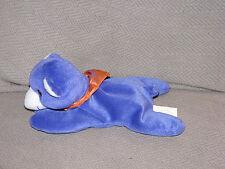 TOLERANCE TEDDY BEARS COMFY BEAN BAG TOY PURPLE ORANGE BANDANA SIMILAC LACTOSE