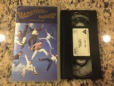MADNESS MADSTOCK! 1 RARE OOP PAL FORMAT UK VHS 1992 REUNION CONCERT LIVE POP FUN