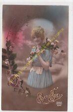 CPA Old Postcard vintage Enfant  BONNE FETE  EME 850