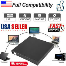 External Laptop NoteBook USB 2.0 Slim IDE DVD CD Rom Drive Case Enclosure Caddy
