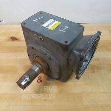 Boston Gear HF726-30-B5-H-P24 Speed Reducer Gearworm, 30:1 Ratio 1.5HP Input