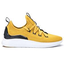 "Supra ""Factor"" Shoes (Golden/Black-White) Men's Athletic Trainer Shoe Sneakers"