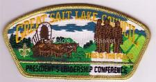 "Great Salt Lake Council 1997 SA-52 Gold Mylar bdr ""This is the Place"" Rare Mint"