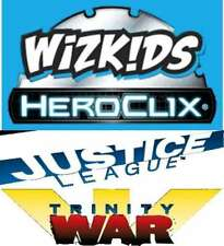 JUSTICE LEAGUE-TRINITY WAR C/U/R HeroClix SET 1- 48(not in 37)
