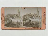 Seville Sevilla Cattedrale Spagna Foto J.Andrieu Stereo Vintage Albumina
