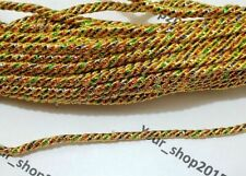 5 Yard Rope Twisted lace trimming ribbon Dress making, Curtain, Cushion Tie Back
