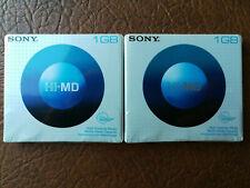 Sony Hi-Md Minidisc 2X 1 GB NUOVI SEALED MINI DISC