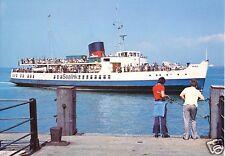 AK, Personenfähre von Sealink aus Portsmouth bei der Ankunft in Head, um 1970