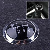 6 Gang Schaltknauf Emblem Abdeckung Kappe Für Toyota Avensis 2009-2019