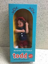 Vintage Barbie TODD TUTTI'S BROTHER DOLL EUROPEAN VARIATION NRFB MIB MIP MOC