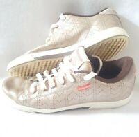 Reebok Classics Metallic Bronze/gold Trainers Size 6.5 - RARE!!!  - Good Cond