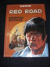 RED ROAD American buffalos BD + dossier de presse