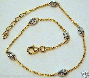 14k White Gold Round Wheat Chain Anklet Bracelet 10 1.5mm Sale Summer Anklet Best Selling