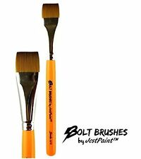 "BOLT Face Painting Brushes by Jest Paint - 3/4"" Stroke"