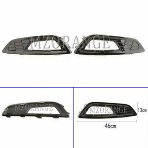 Left Right Side Front Bumper Fog Light Lamp Cover For Ford Focus MK3 2015-2020