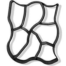 NATURSTEIN Betonform Schalungsform Gehweg Form Trittstein Pflasterform 60x50x4