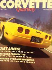 Corvette Quarterly Magazine '91 Corvette Story & Specs Fall 1990 020818nonrh