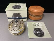 Orvis Limited Edition Gold CFO III Click & Pawl Fly Reel #129