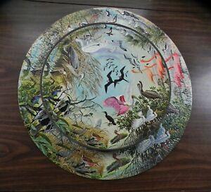Vintage 1965 Springbok Puzzle Water Birds Circular Arthur Singer Painting