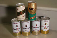 6 different San Miguel cans - South Pacific - Hong Kong - Philippines, etc.