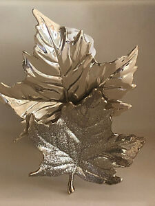 Bath and Body Works Double Gold Leaves Wallflowers Plug Diffuser Only - New