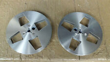 "New Listing5"" 5 inch metal take up reel for reel to reel tape recorder custom made 2 total"