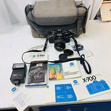 New ListingMinolta X-700 35mm Slr Film Camera With Accessories. #S2B