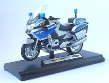 Sonder-Edition: BMW Polizei Motorrad R1200 RT Modell 1:18, NEU+OVP von Welly