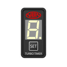 SAAS SG81803 TURBO TIMER DIGITAL SWITCH GAUGE AUTO NISSAN GU PATROL