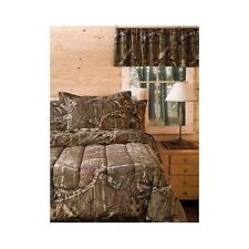 Bedding Comforter Set Mossy Oak Camouflage Queen Size Bed in a Bag Bedroom Sleep