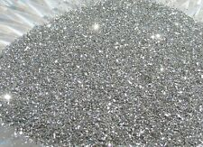 Real German GLASS GLITTER Fine 80 Grit Pure Silver 1 Ounce