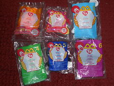 Ty Beanies Lot - McDonald's 2000 - Complete Set of 18
