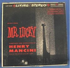 HENRY MANCINI LP RECORD, MUSIC FROM MR. LUCKY