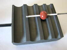 Devardi Glass Graphite Marver~ ROUND BEAD ROLLER/SHAPER, Lampwork Bead Making