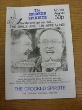 Aug-1990 Chesterfield: The Crooked Spireite  No.22 - Independent Football Magazi