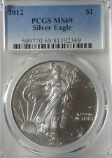 2012 American Silver Eagle - PCGS MS69 - Very Nice Coin!