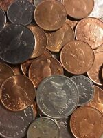 100 Gramm  Restmünzen/Umlaufmünzen Gibraltar