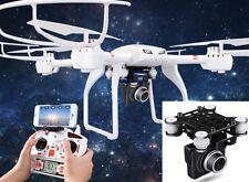 FPV Wifi 3D Pro Drohne/Quadcopter m. Profi HD Livebild Kamera C4008- Coming Home